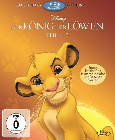 Blu-ray »Der König der Löwen - Teil 1-3 (Collector's...«