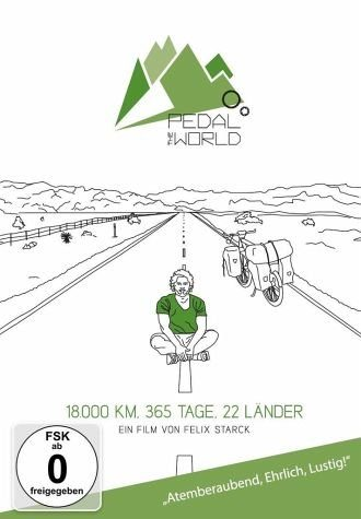 DVD »Pedal the World - 18.000km / 365 Tage / 22...«