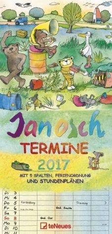 Kalender »Janosch Familientermine/Familienplaner 2017«