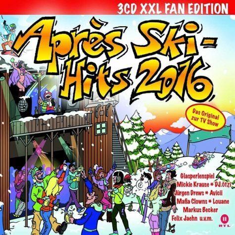 Audio CD »Various: Apres Ski Hits 2016-3cd Xxl Fan Edition«