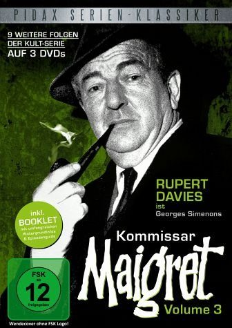 DVD »Kommissar Maigret - Vol. 3 (3 Discs)«