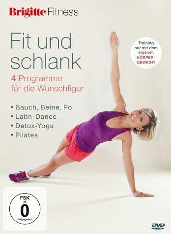 DVD »Brigitte Fitness - Fit und schlank ohne Geräte«