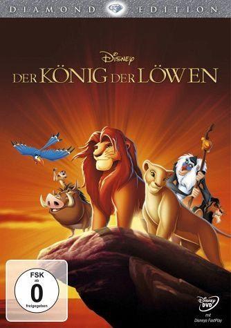 DVD »Der König der Löwen (Diamond Edition)«