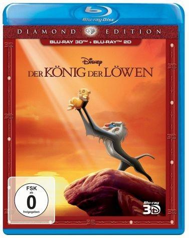 Blu-ray »Der König der Löwen (Diamond Edition, Blu-ray...«