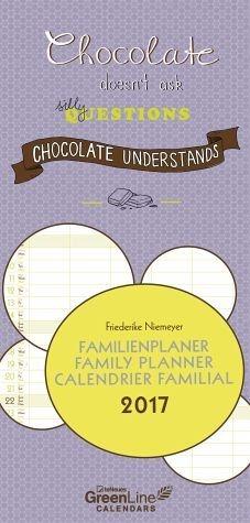 Kalender »GreenLine Friederike Niemeyer 2017 Familienplaner«