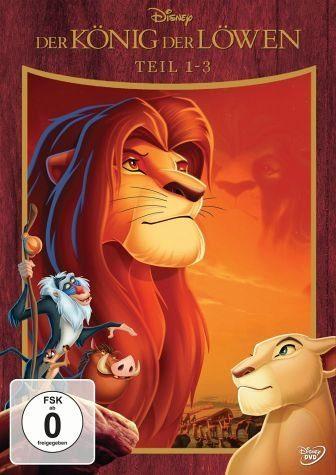 DVD »Der König der Löwen - Teil 1-3 (3 Discs)«