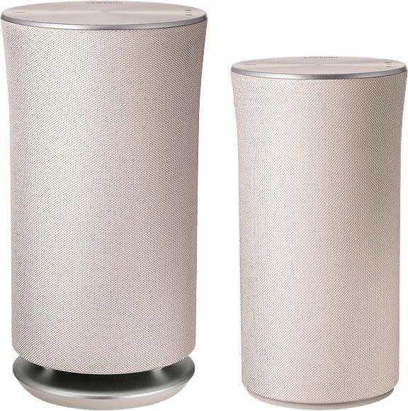 Samsung WAM3501 Multiroom-Lautsprecher (Bluetooth, WiFi, Spotify, Deezer) in Creme