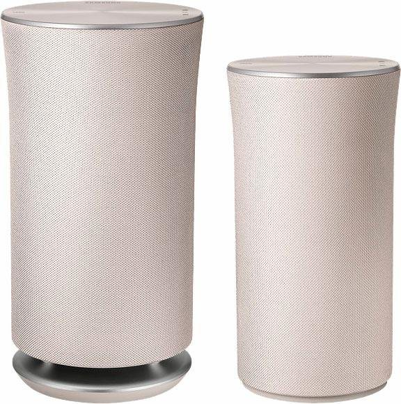 Samsung WAM1501 Multiroom-Lautsprecher (Bluetooth, WiFi, Spotify, Deezer) in Creme