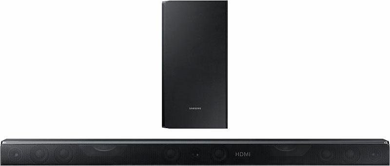 Samsung HW-K850 Soundbar (Multiroom, Bluetooth, WiFi, Spotify, Deezer) in schwarz