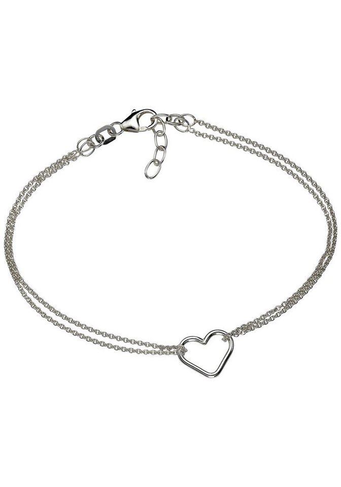 Firetti Armband »Herz« in Silber 925