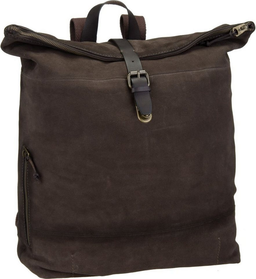 Marc O'Polo Backpack M Buff Suede in Stone