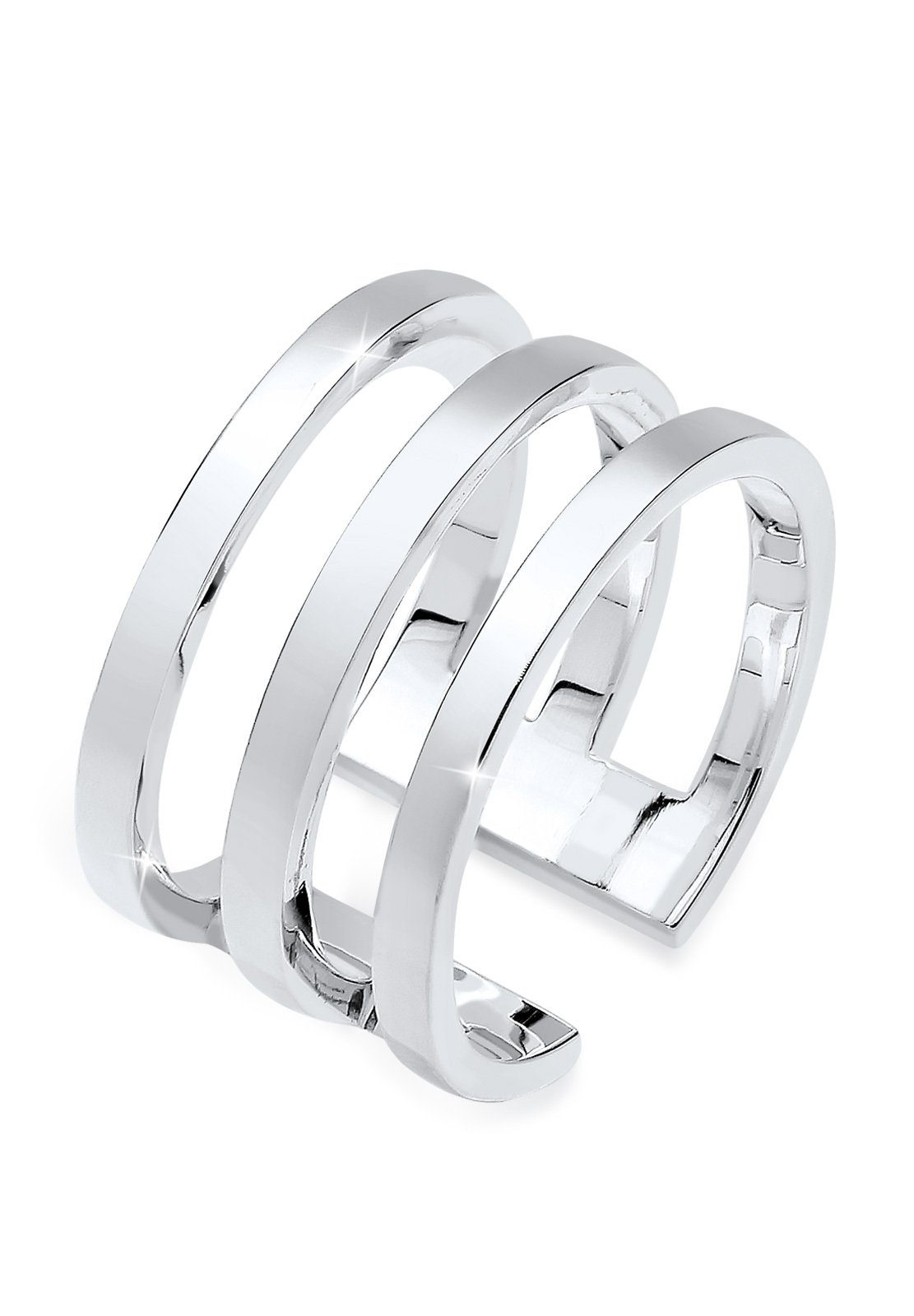 Elli Ring »Blogger Must-Have Wickelring 925er Silber«