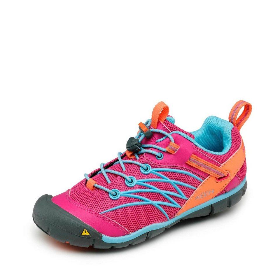 Keen Chandler Sneaker in pink/türkis