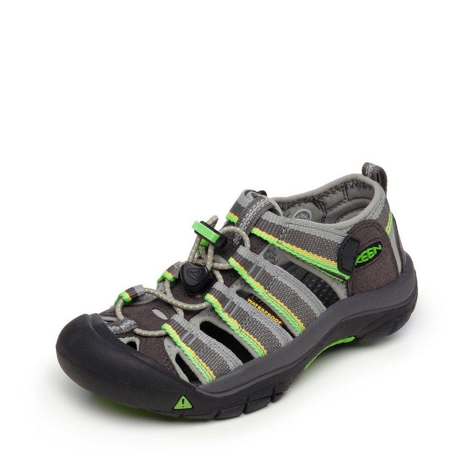 Keen Sandale in grau/grün