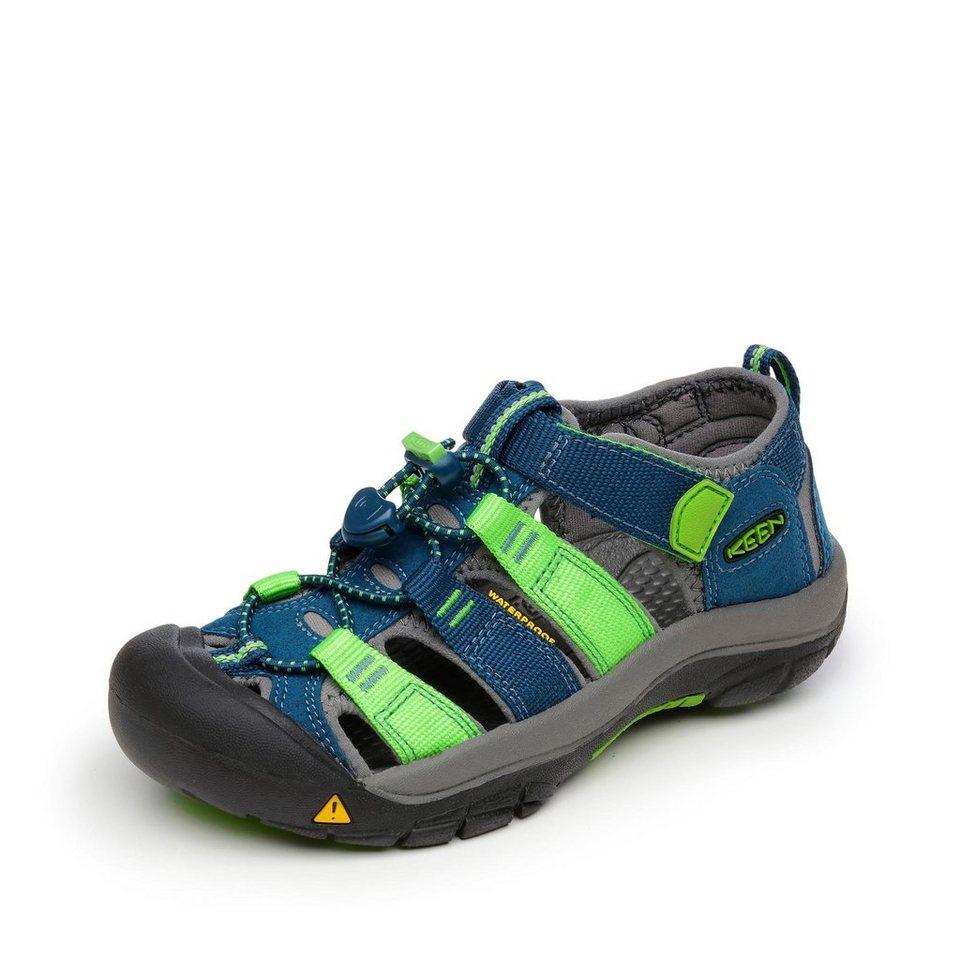 Keen Sandale in marine/grün