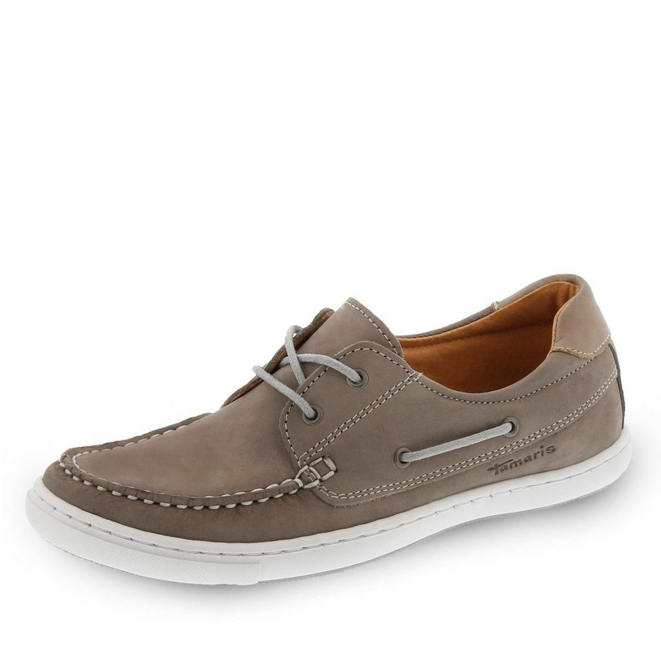 Tamaris Verso Bootsschuh in taupe