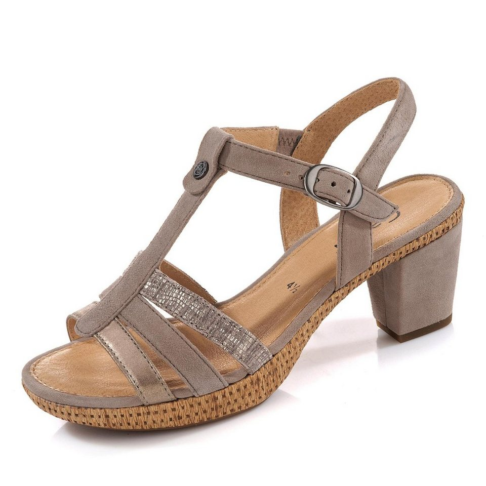 Gabor Sandalette in taupe