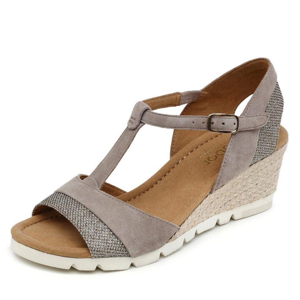 Gabor Comfort Sandalette in grau