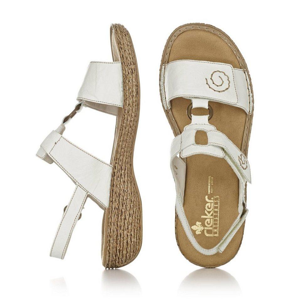 Rieker Sandale in weiß