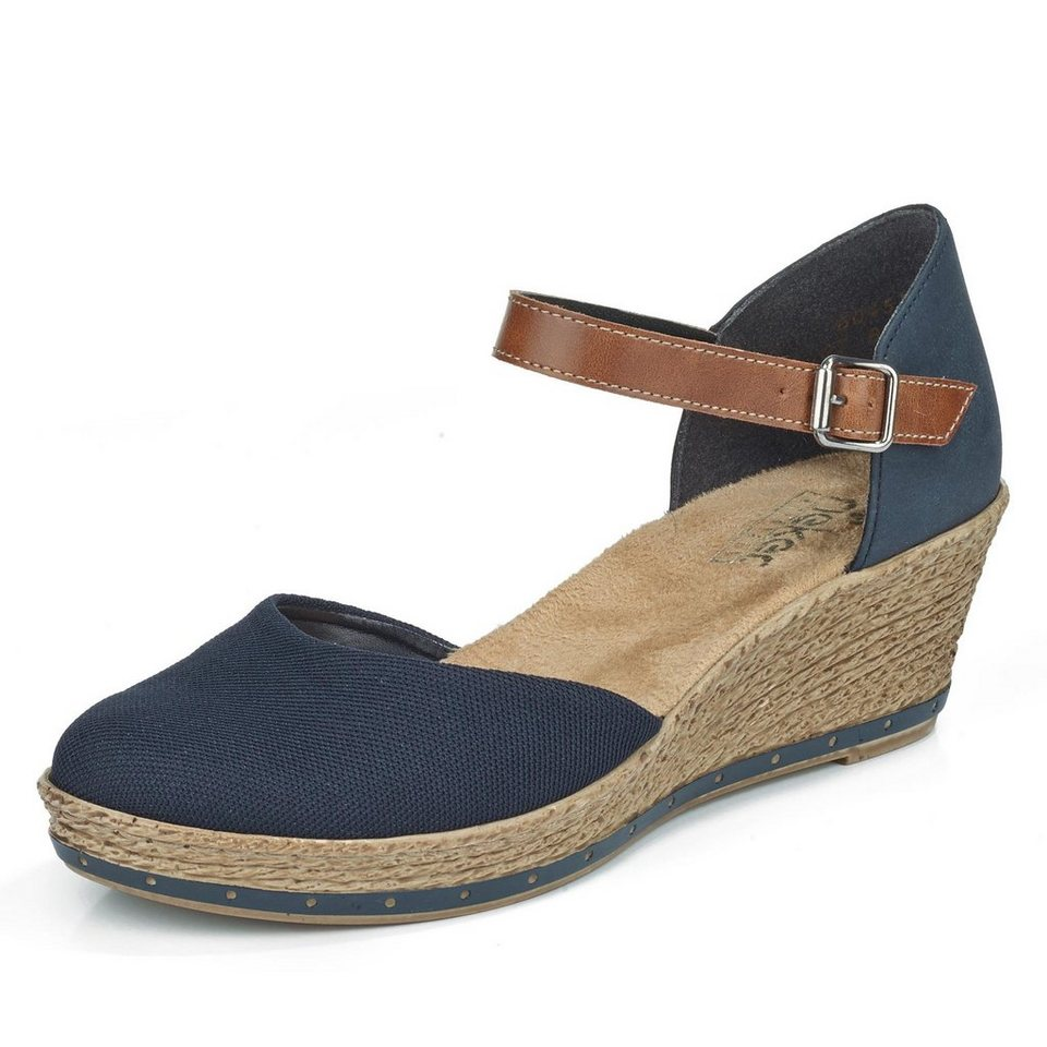 Rieker Sandalette in blau