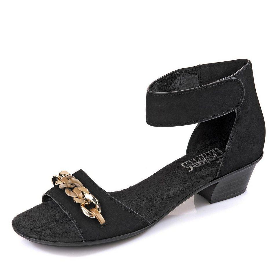 Rieker Sandalette in schwarz