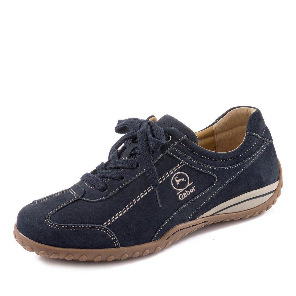 Gabor Comfort Sneaker in blau