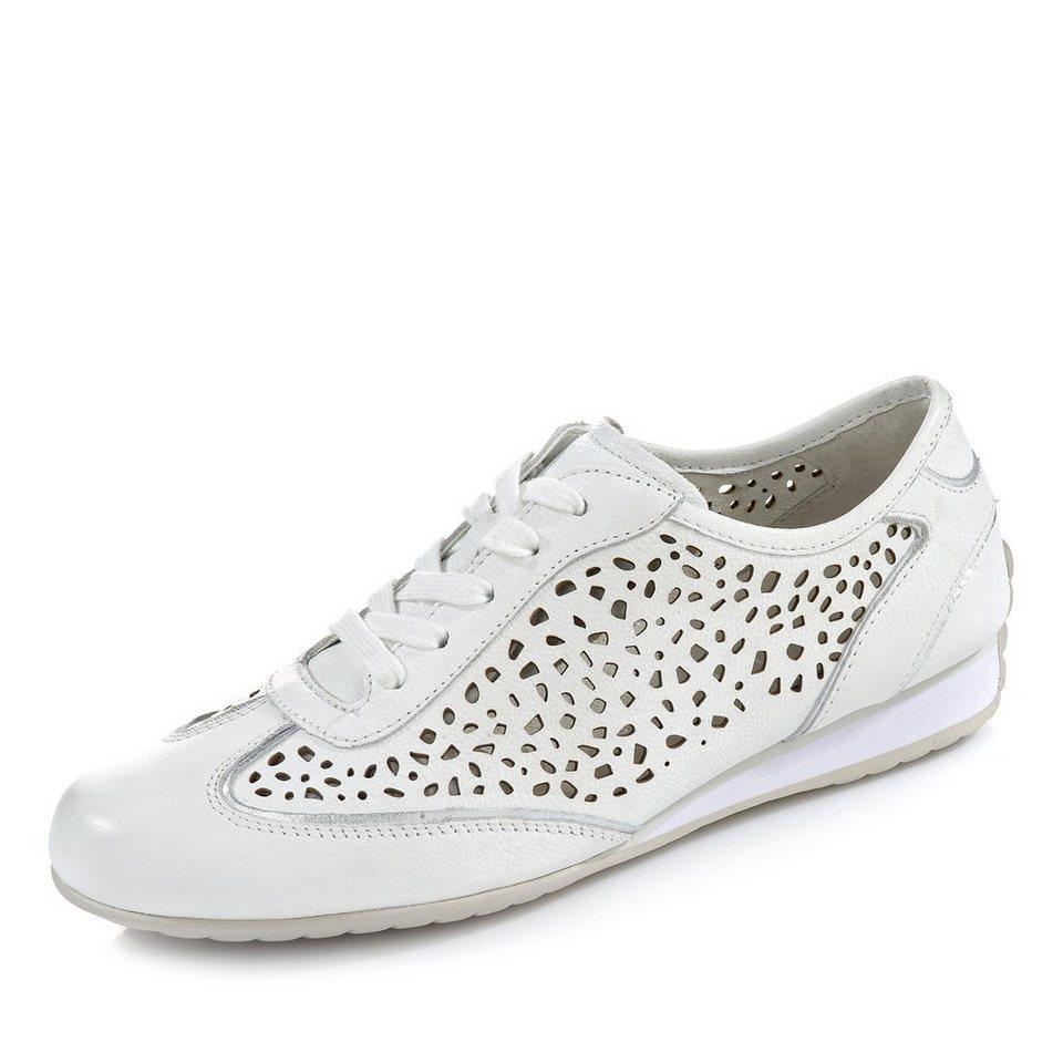Gabor Comfort Sneaker in weiß