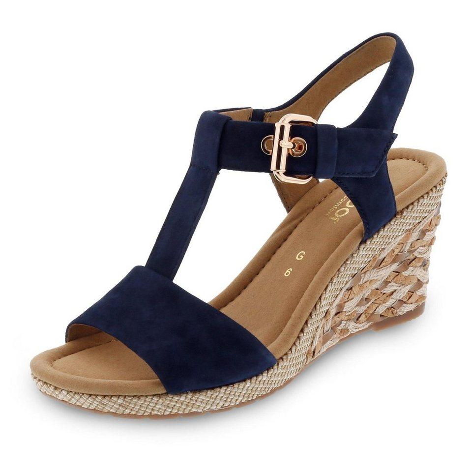 Gabor Comfort Sandalette in blau