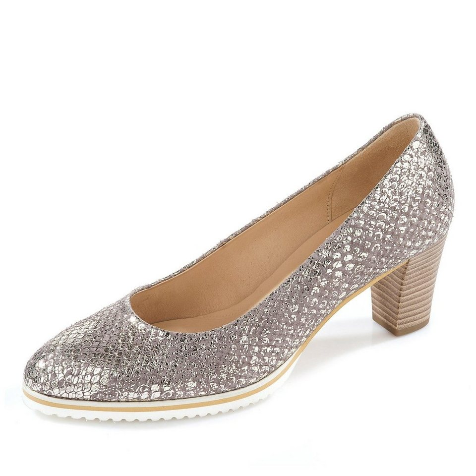 Gabor Pumps in silber