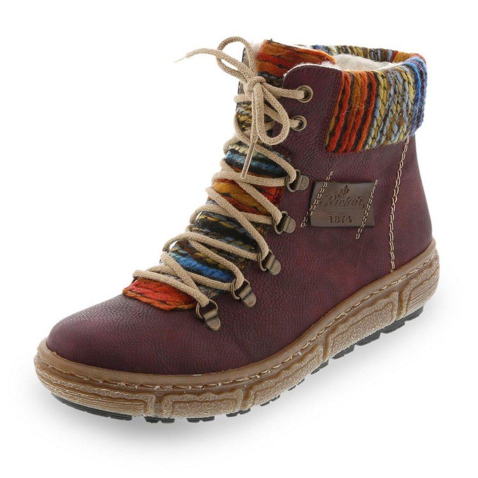 Rieker Boots in bordeaux
