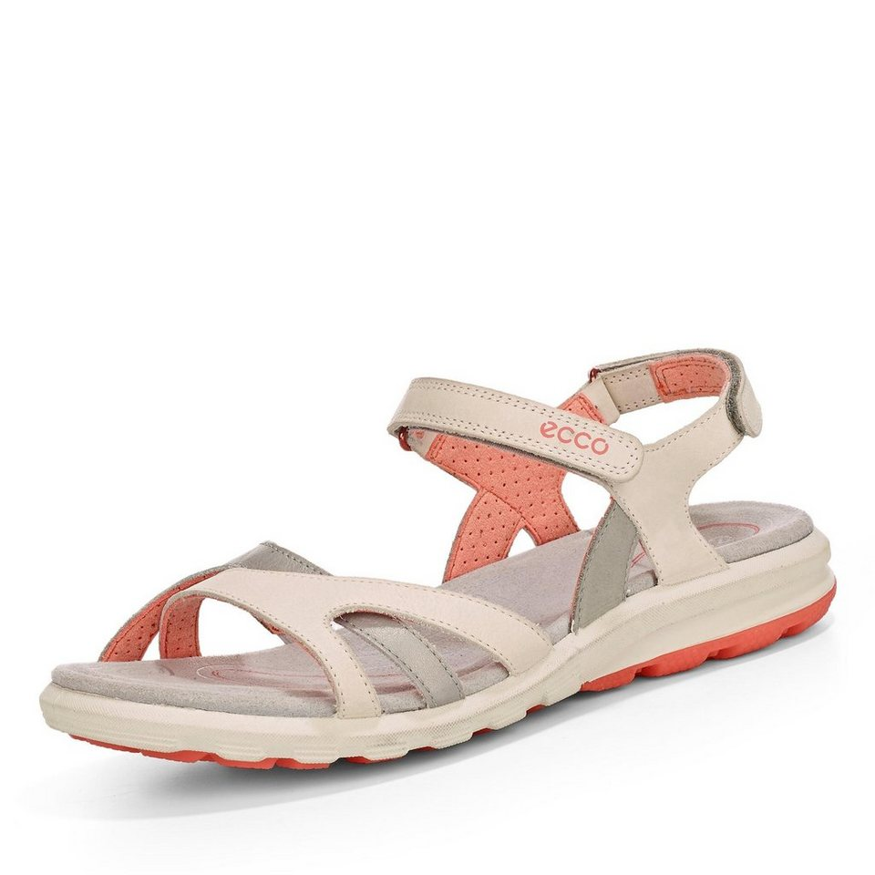 Ecco Cruise Sandale in offwhite/silber
