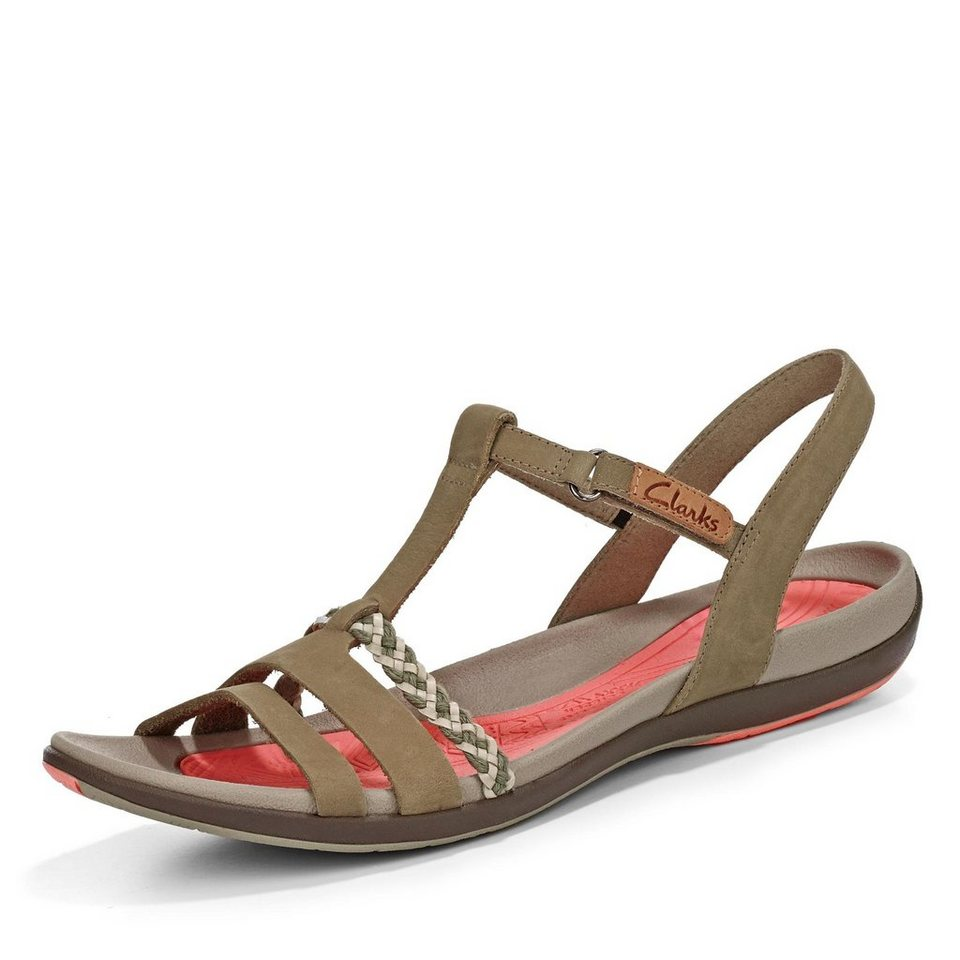 Clarks Grace Sandale in taupe