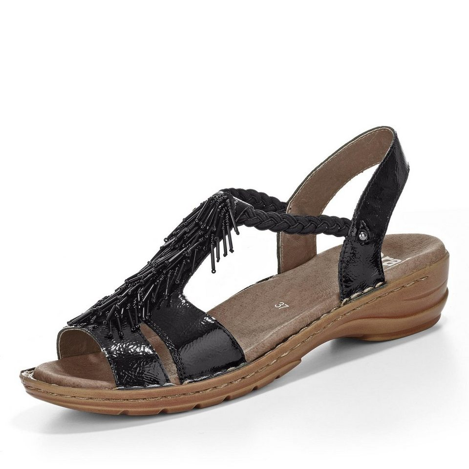 Ara Hawaii Sandale in schwarz