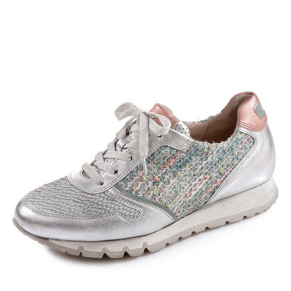 Gabor Comfort Sneaker in silber