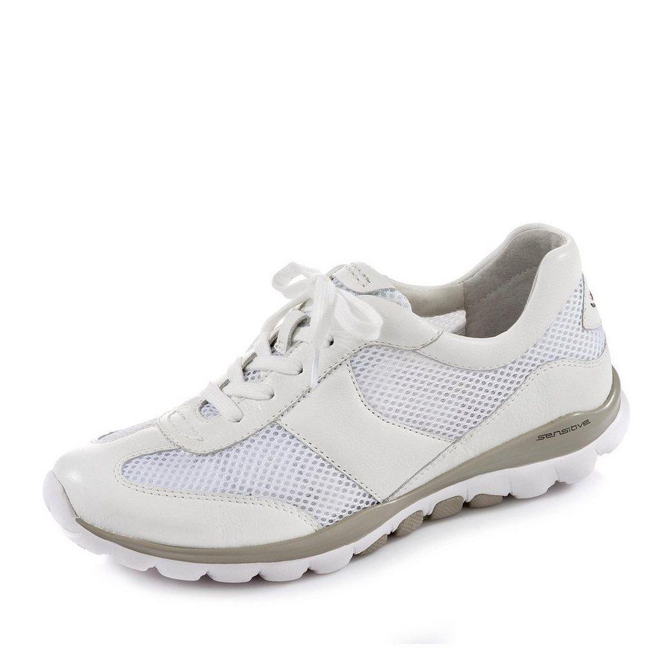 Gabor Comfort Schnürschuh in weiß