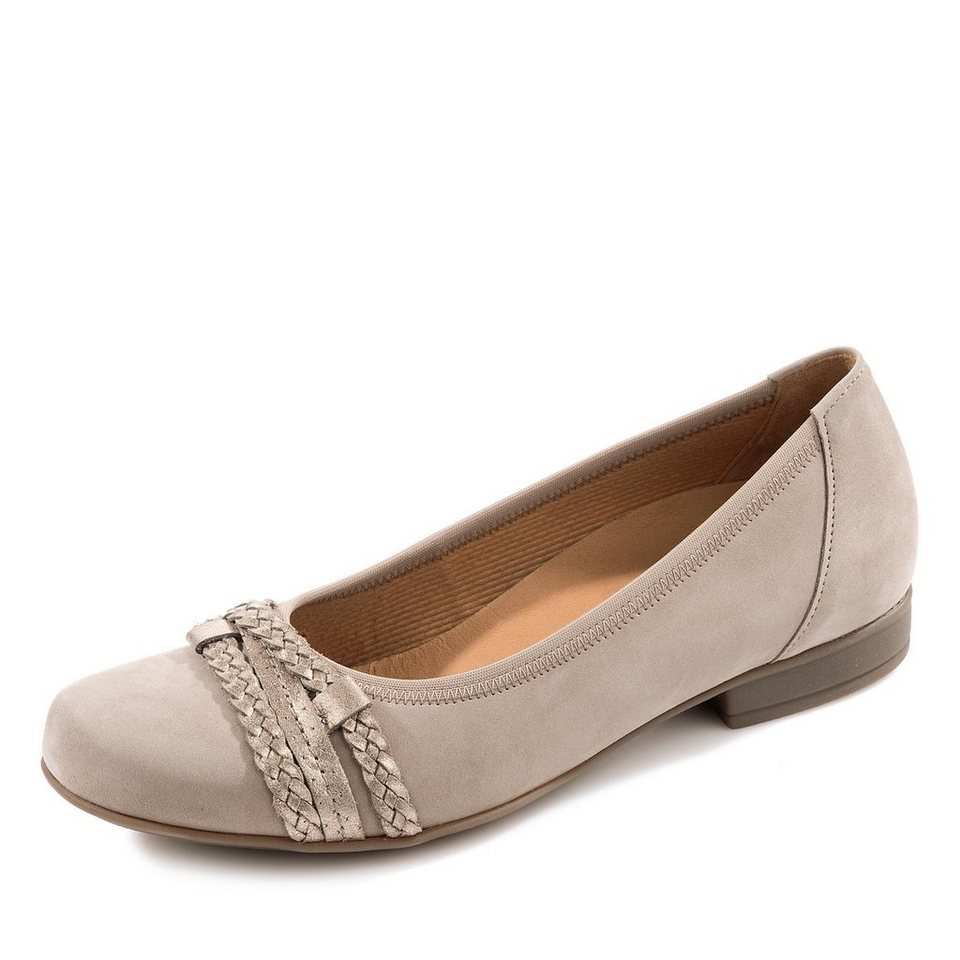 Gabor Comfort Schuh in taupe