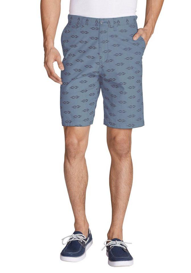 Eddie Bauer Chino-Shorts bedruckt in Graphit
