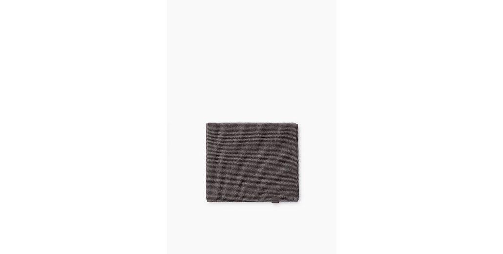 ESPRIT CASUAL Hahnentritt-Schal aus Baumwoll-Mix Jersey