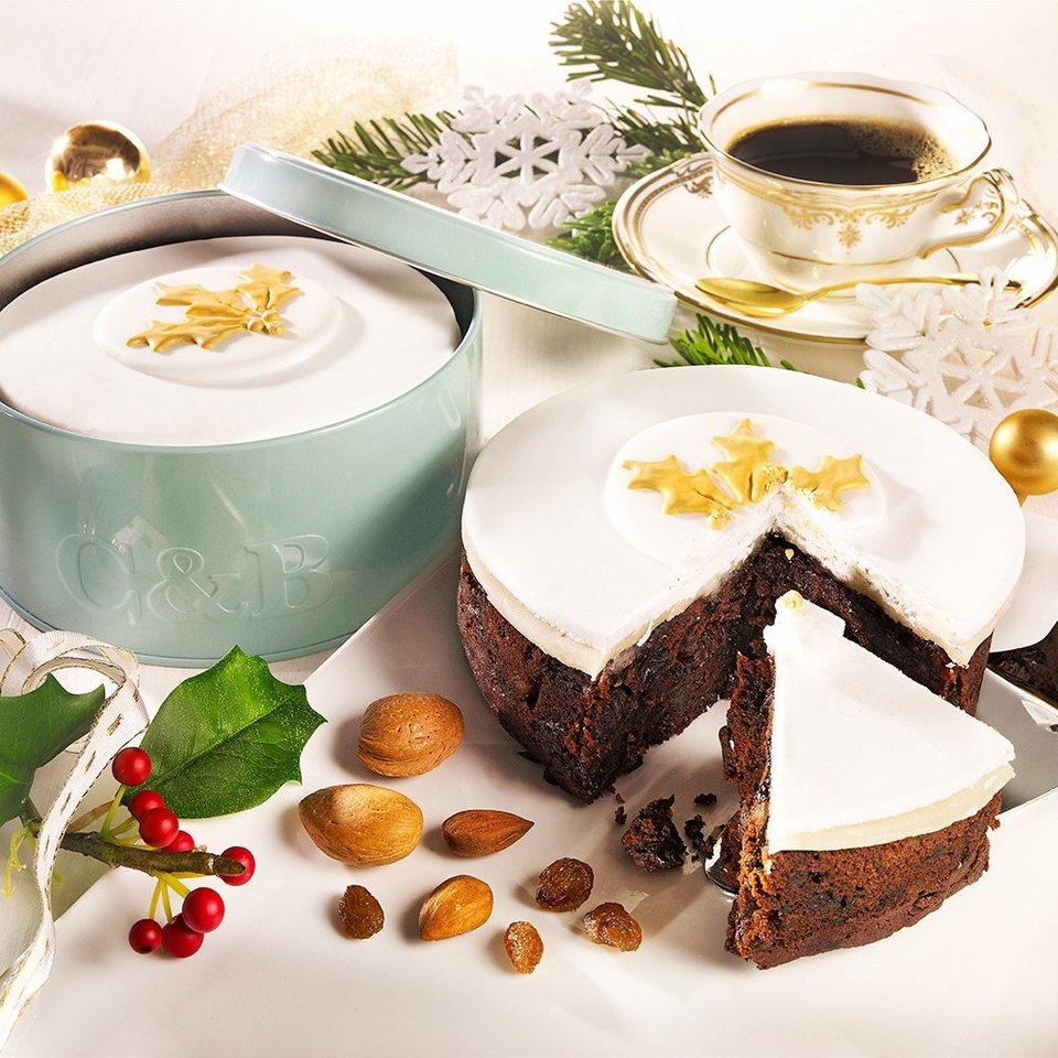 Cartwright & Butler Weihnachts-Gewürzkuchen mit Zuckerguss