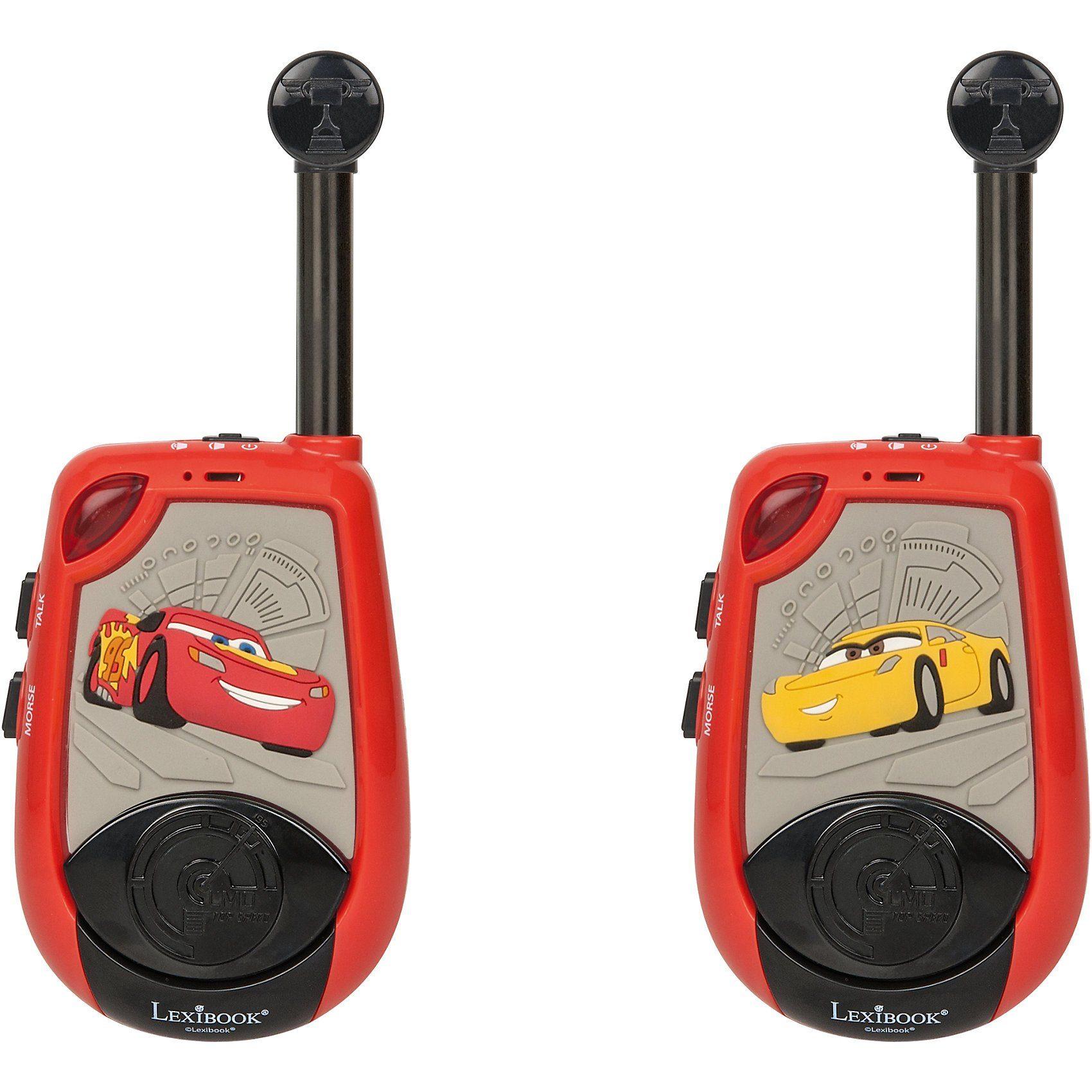 Lexibook® Disney Cars 3D Walkie Talkie