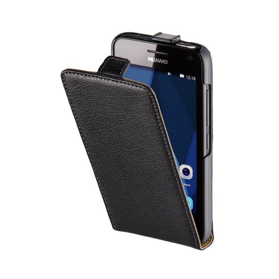 Hama Flap-Tasche Smart Case für Huawei Y360 (Y3), Schwarz in Schwarz