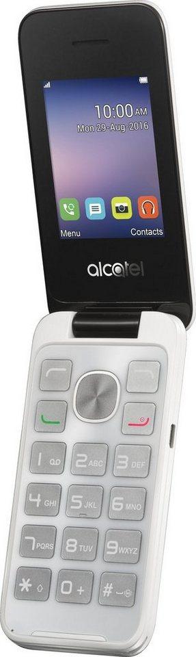 Alcatel Handy »20.51D« in Weiß-Schwarz