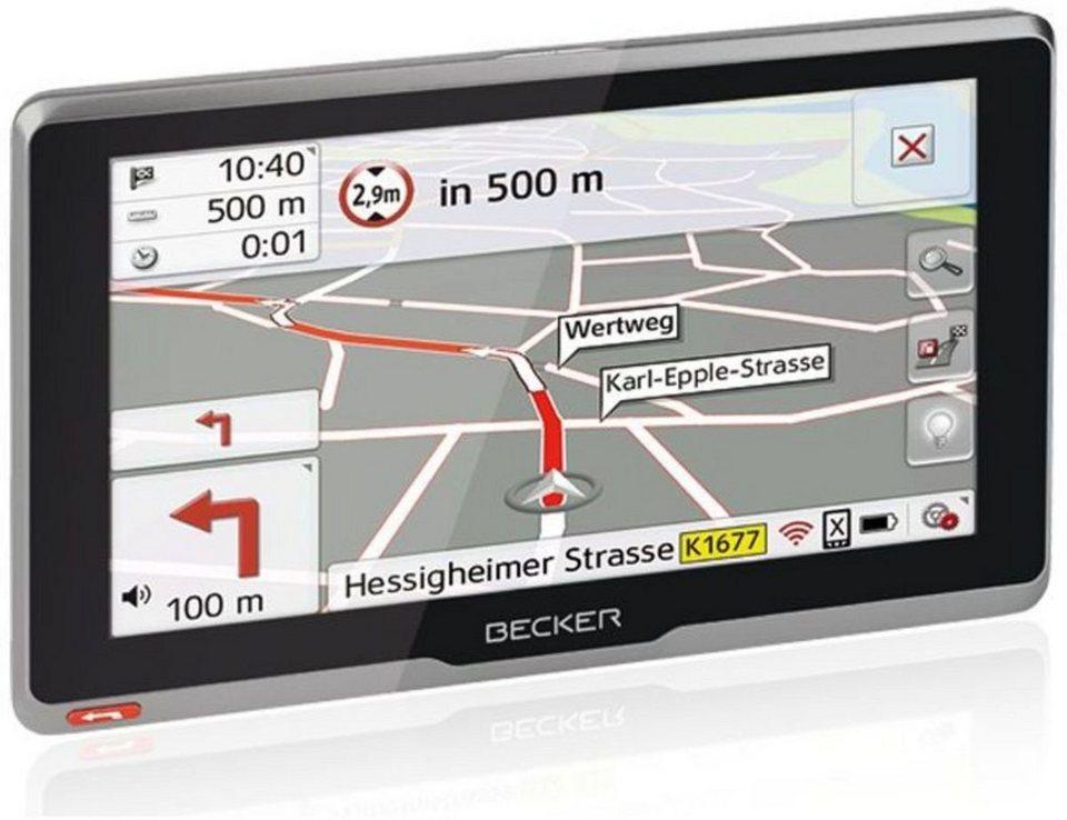 Becker LKW-Navigationsgerät »transit.6sl EU plus« in Schwarz-Anthrazit