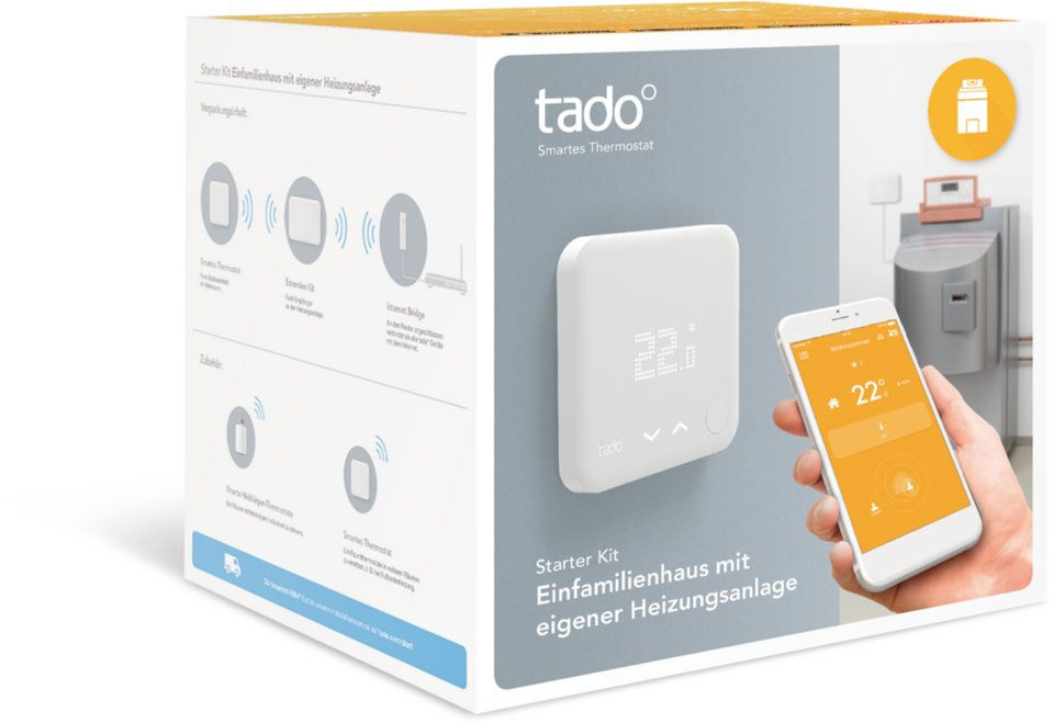 tado smart home zubeh r starter kit einfamilienhaus mit eigener heizung online kaufen otto. Black Bedroom Furniture Sets. Home Design Ideas