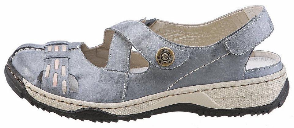 Rieker Slipper mit leichtem Tragegefühl in graublau