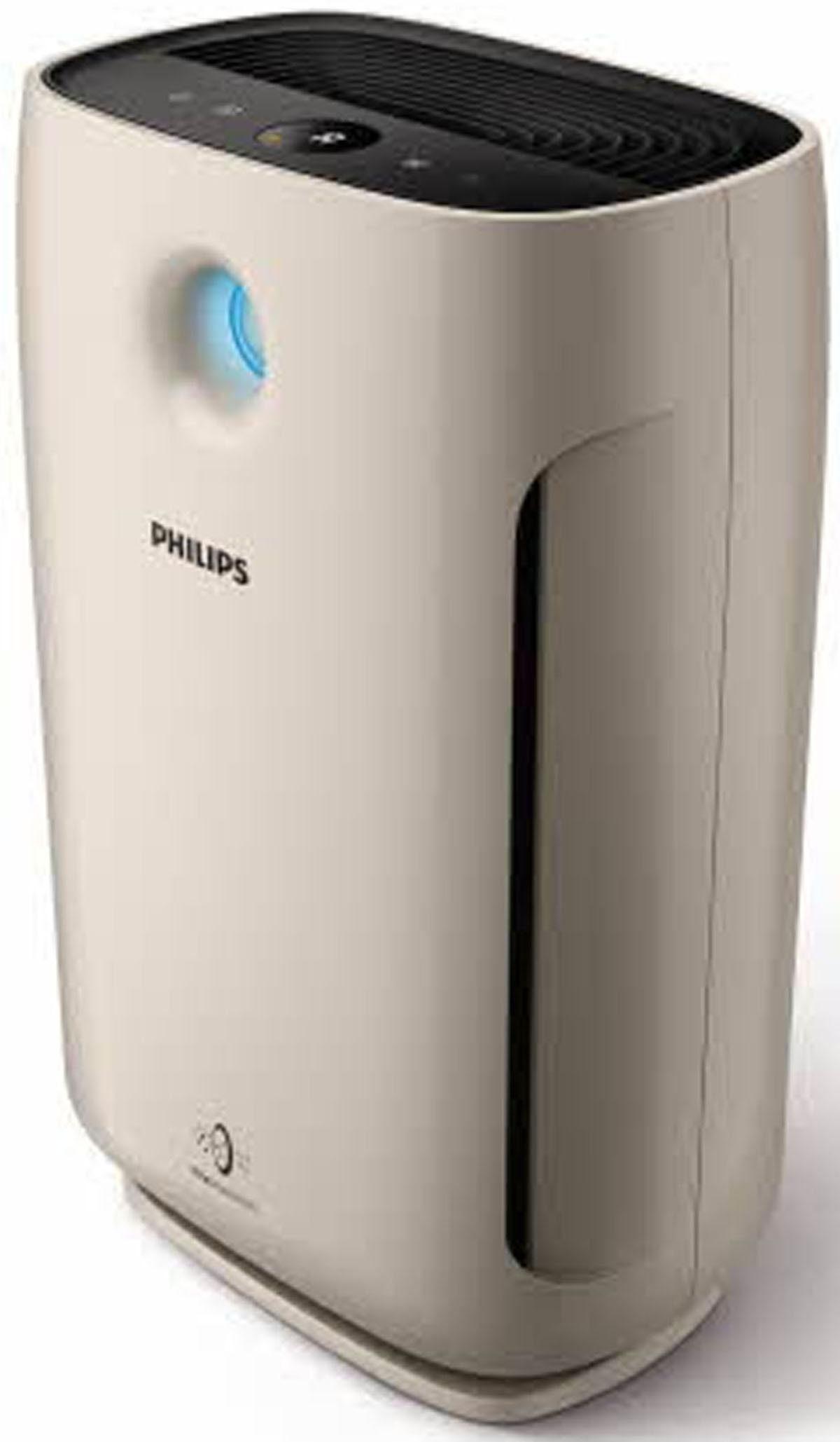 Philips Luftreiniger Series 2000 AC2882/10 bis 79 m² Raumgröße, Allergiemodus, beige-schwarz