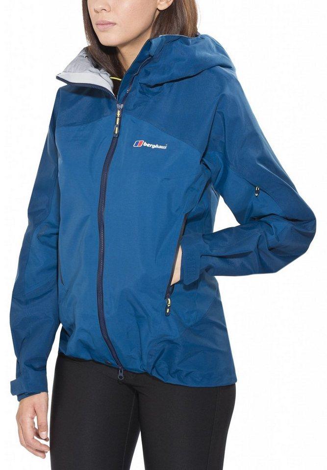 Berghaus Regenjacke »Sumcham Jacket Women« in blau