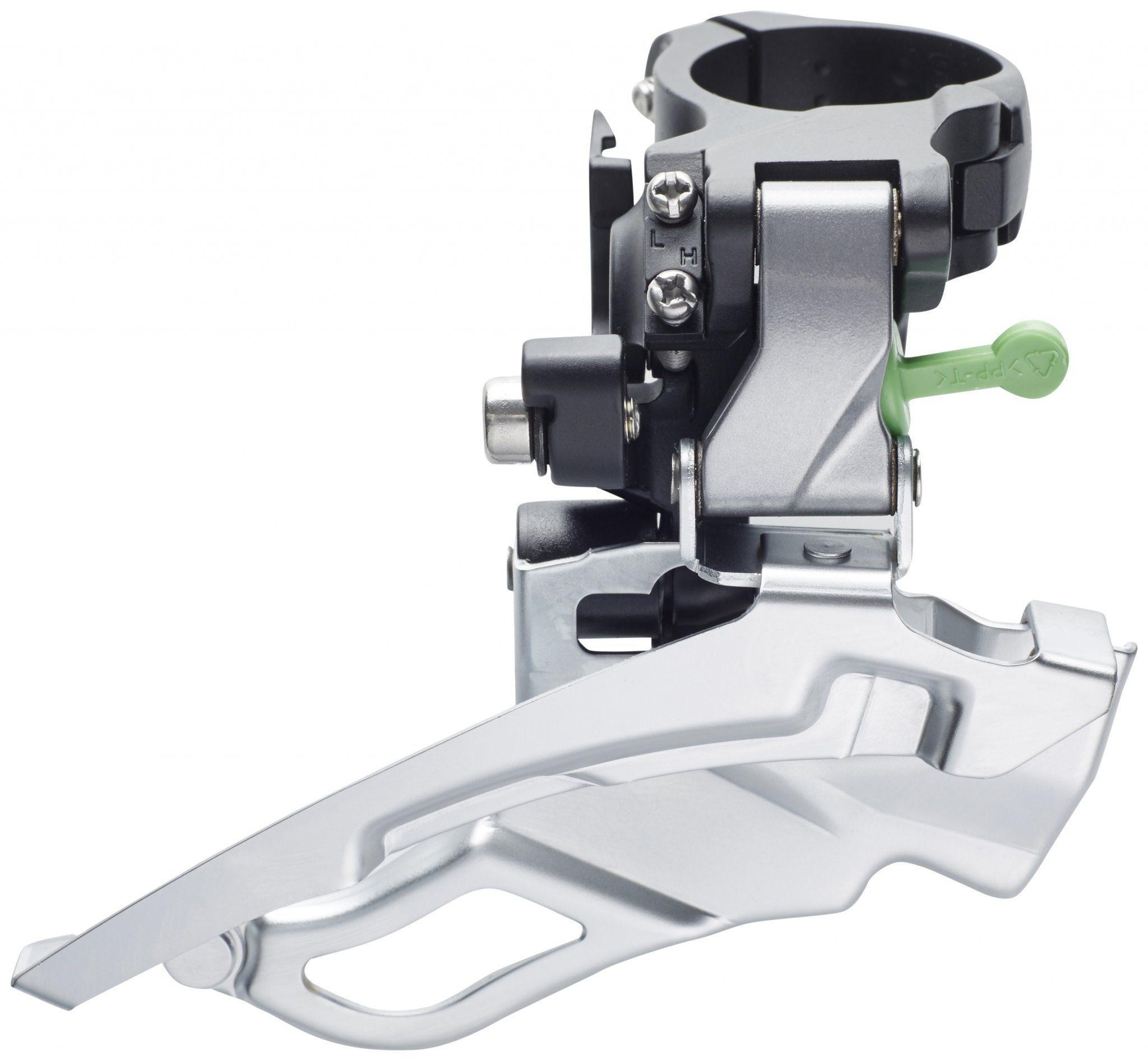 Shimano Schaltung »Deore Trekking FD-T611 Umwerfer 3x10-fach silber«