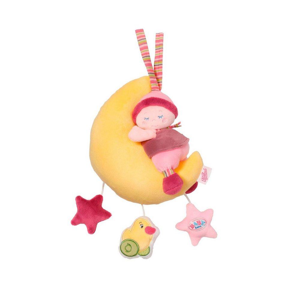 ZAPF Spieluhr Mond in gelb