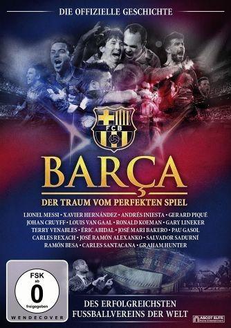 DVD »Barça - Der Traum vom perfekten Spiel«